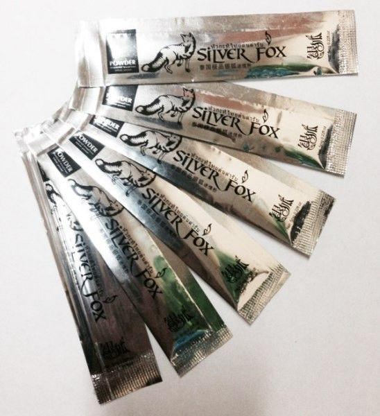 ''Silver Fox'' возбуждающий порошок для женщин, в одной упаковке 12 пакетиков по 5 мг - 3
