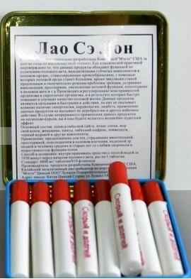 ''Лао Сэ Лон'' мужские капсулы для потенции 24 капсул - 2