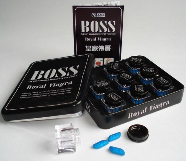 ''Boss Royal Viagra'' препарат для повышения потенции и укрепления эрекции у мужчин 27 таблеток - 1